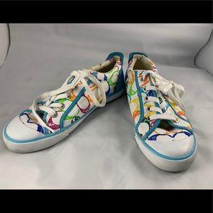 Multicolor Coach Sneakers